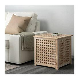 【IKEA/イケア/通販】 HOL ホール サイドテーブル, アカシア材(d)(90353021)【代引不可商品】