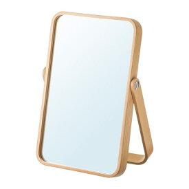 【IKEA/イケア/通販】 IKORNNES イコルネス テーブルミラー, アッシュ(d)(80306921)