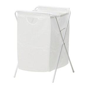 【IKEA/イケア/通販】 JLL イェル ランドリーバッグ スタンド付き, ホワイト(c)(10171826)