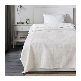 【IKEA/イケア/通販】 INDIRA インディーラ ベッドカバー(※本体は付属しません。カバーのみの商品です), ホワイト(e)(40191757)