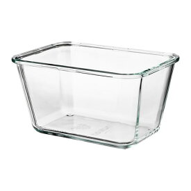 【IKEA/イケア/通販】 IKEA 365+ 保存容器, 長方形, ガラス(c)(20359205)