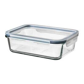 【IKEA/イケア/通販】 IKEA 365+ 保存容器 ふた付き, 長方形 ガラス, ガラス プラスチック(c)(S69269072)