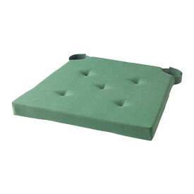 【IKEA/イケア/通販】 JUSTINA チェアパッド, グリーン(a)(00304426)