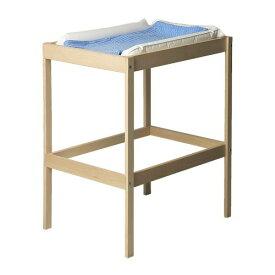 【IKEA/イケア/通販】 SNIGLAR チェンジングテーブル, ビーチ, ホワイト(d)(60372219)