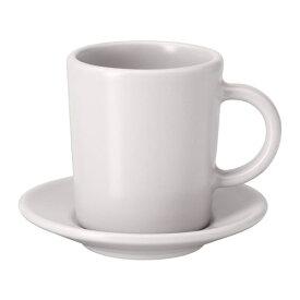 【特選商品】【IKEA/イケア/通販】 DINERA ディネーラ エスプレッソカップ&ソーサー, ベージュ(c)(20429642)