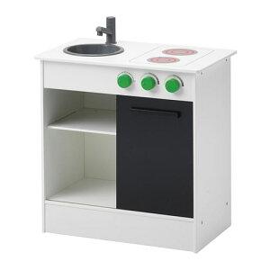 【IKEA/イケア/通販】 NYBAKAD ニバカード おままごとキッチン 引き戸付き, ホワイト(d)(50306022)