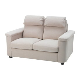 【IKEA/イケア/通販】 LIDHULT リードフルト 2人掛けコンパクトソファ, ガッセボル ライトベージュ(a)(S39304114)