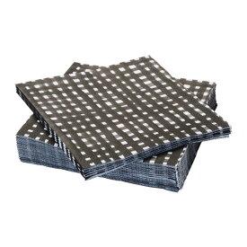 【IKEA/イケア/通販】 URLADDA ウルラッダ 紙ナプキン, ブラック/ホワイト/30 ピース(a)(60415902)