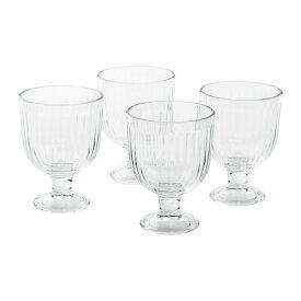 【特選商品】【IKEA/イケア/通販】 VARDAGEN ヴァルダーゲン ゴブレット, クリアガラス/4 ピース(c)(70415893)
