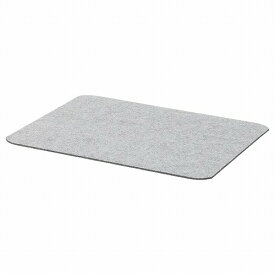 【IKEA/イケア/通販】ÖVERSIKTLIG オーヴェルシクトリグ ランチョンマット, ライトグレー (70469230)[B]