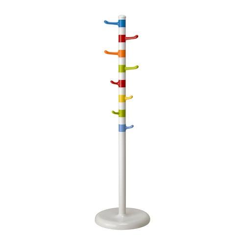 【IKEA/イケア/通販】 KROKIG クローキグ 洋服スタンド, ホワイト, マルチカラー(f)(40174507)