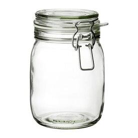 【IKEA/イケア/通販】 KORKEN コルケン ふた付き容器, クリアガラス(c)(30213547)