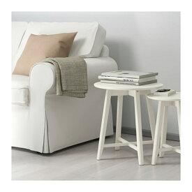 【IKEA/イケア/通販】 KRAGSTA クラーグスタ ネストテーブル2点セット, ホワイト(d)(90353059)