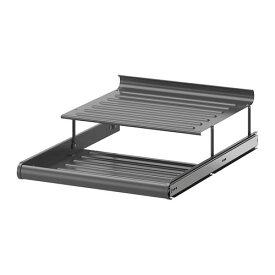 【IKEA/イケア/通販】 KOMPLEMENT コムプレメント 引き出し式シューズシェルフ, ダークグレー(f)(50257470)