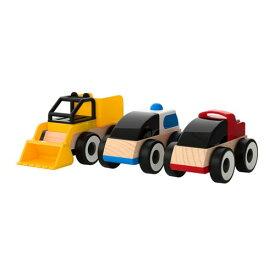 【IKEA/イケア/通販】 LILLABO リラブー おもちゃ のりもの, ミックスカラー アソートカラー/3 ピース(f)(50185831)