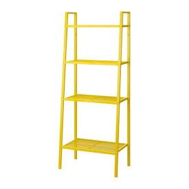 【期間限定】【IKEA/イケア/通販】 LERBERG レールベリ シェルフユニット, イエロー(c)(70366717)