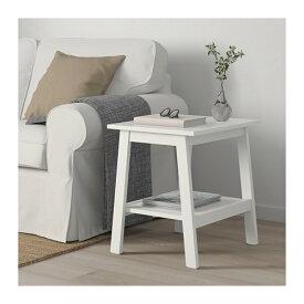 【IKEA/イケア/通販】 LUNNARP ルンナルプ サイドテーブル, ホワイト(d)(50399021)