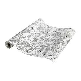 【IKEA/イケア/通販】 LUSTIGT ルースティグト ぬり絵ロール紙/10 m(c)(90385395)