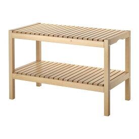 【期間限定】【IKEA/イケア/通販】 MOLGER モルゲル ベンチ, バーチ(d)(20241452)