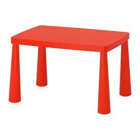 【IKEA/イケア/通販】 MAMMUT マンムット 子供用テーブル, 室内/屋外用 レッド●(a)(80365166)