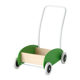 【IKEA/イケア/通販】 MULA ムーラ 手押し車, グリーン, バーチ(d)(10283579)[D]