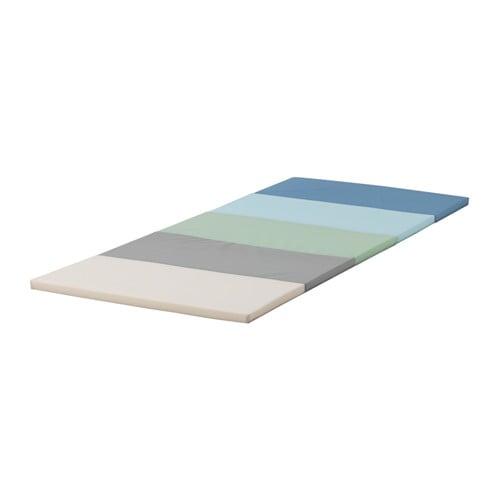 【IKEA/イケア/通販】 PLUFSIG ペルフスィッグ 折りたたみ式ジムマット, ブルー(e)(00377899)