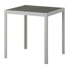 【IKEA/イケア/通販】 SJÄLLAND シェランド テーブル 屋外用, ダークグレー, ライトグレー(a)(S09262436)