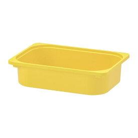 【IKEA/イケア/通販】 TROFAST トロファスト 収納ボックス, イエロー(c)(10308004)