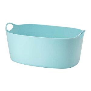 【IKEA/イケア/通販】 TORKIS トルキス フレキシブルランドリーバスケット、室内/屋外用, ブルー(c)(30339226)