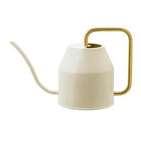 【IKEA/イケア/通販】 VATTENKRASSE ヴァッテンクラッセ じょうろ, アイボリー, ゴールドカラー(f)(90394154)