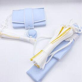 花嫁和装 はこせこ かいけん 新品 婚礼用 筥迫 懐剣2点セット ブルー系