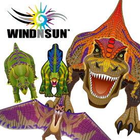 凧 カイト WINDNSUN DLXナイロン ダイナソー 1m超えのビックサイズ 凧揚げ 凧あげ お正月