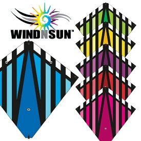凧 カイト StuntDiamond スタントダイヤモンド WINDNSUN スポーツカイト 全6色 凧揚げ 凧あげ お正月