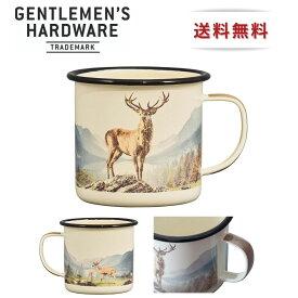 Gentlemen's Hardware ジェントルマン ハードウェア アウトドア ホーロー マグカップ Deer ソロ キャンプ おしゃれ 人気 ヴィンテージ コーヒー スープ
