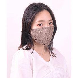 フラワーレースマスク マスク 洗える レディース 洗えるマスク ファッションマスク おしゃれ レース 花柄 WEGO ウィゴー