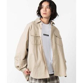 CPOジャケット シャツ メンズ レディース ユニセックス ジャケット CPO CPOシャツ オーバーサイズ ビッグサイズ WEGO ウィゴー