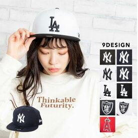 NEWERA 9FIFTY ニューエラ キャップ レディース メンズ ユニセックス キャップ 帽子 ベースボールキャップ BBキャップ ワンポイント ブランド WEGO ウィゴー