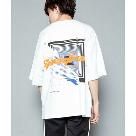 【66%OFF】 マルチロゴBIGT メンズ レディース ユニセックス Tシャツ 半袖 ビックTシャツ お揃い 夏 シミラー 双子 WEGO ウィゴー ロゴ プリント トップス ストリート スポーツ ガーリー