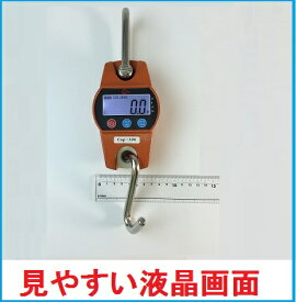 【あす楽対応】WCPクレーンスケール 200kg 超コンパクトデジタル吊りはかり 乾電池式【三方良し】吊はかり おすすめ