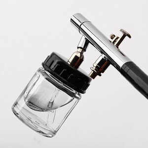 【あす楽対応】【三方良し】ガラスカップタイプエアーブラシ ダブルアクショントリガー ノズル0.3mm