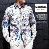 デジガル/2020春夏☆数量限定!オーガニックアニメチックシャツ(MEN'S)