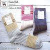 French Bull/ French bulldog No. 11-23,182 branch socks (three colors)