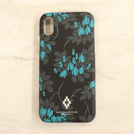 iPhone X用 スマホケース MARCELO BURLON / ALL OVER FLOWERS X CASE マルセロ ブロン