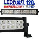 【送料無料】【限定エントリーでP最大4倍】12V LED作業灯 24V 12V 対応 120W 40連 LEDワークライト LED 作業灯 LED ワ…