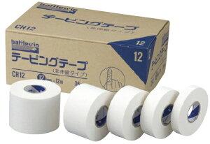 ニチバン バトルウィン テーピングテープ(非伸縮) 38mm×12m C-38 12巻入