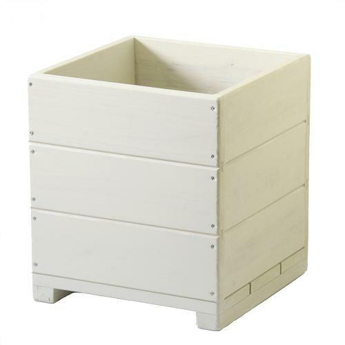 Welcome wood  12号ウッドプランターH12D-GC 鉢カバーとしても使用できます   容量・約39リットル (植木鉢  木製プランター 鉢カバー)