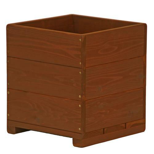 Welcome wood  12号ウッドプランターH12D-CB 鉢カバーとしても使用できます   容量・約39リットル (植木鉢  木製プランター 鉢カバー)
