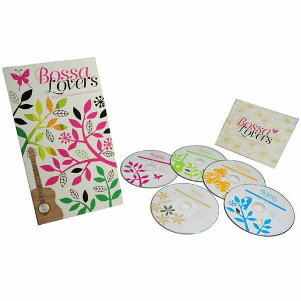 ボッサ・ラヴァーズ -リゾート・ボサノヴァ・セレクション- CD4枚+DVD1枚 DYCP-1661 ロック ポップス 通販限定【送料無料】