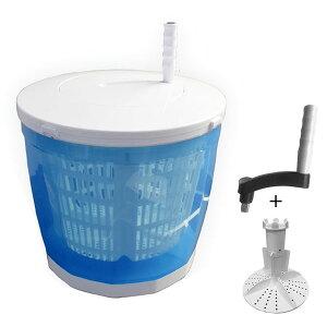 手回し式洗濯機 パルセーター付 電気なしバケツ型洗たく 生野菜水切り 個別洗濯 アウトドア 災害用品 エコ生活雑貨 HCW-200