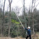 最長6.5mまで伸びるノコギリ 枝打ち一発 N-763【送料無料】